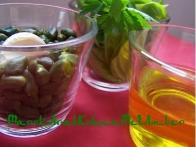 Pesto van pistache recept