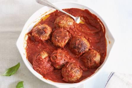 Gehaktballetjes in tomatensaus
