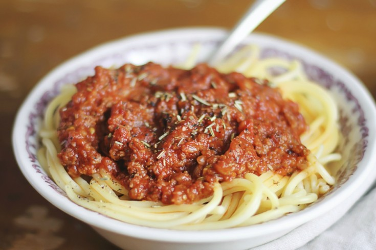 Ons favoriete recept voor spaghetti bolognese