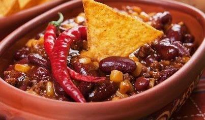 Chili con pollo (chili met kip) recept