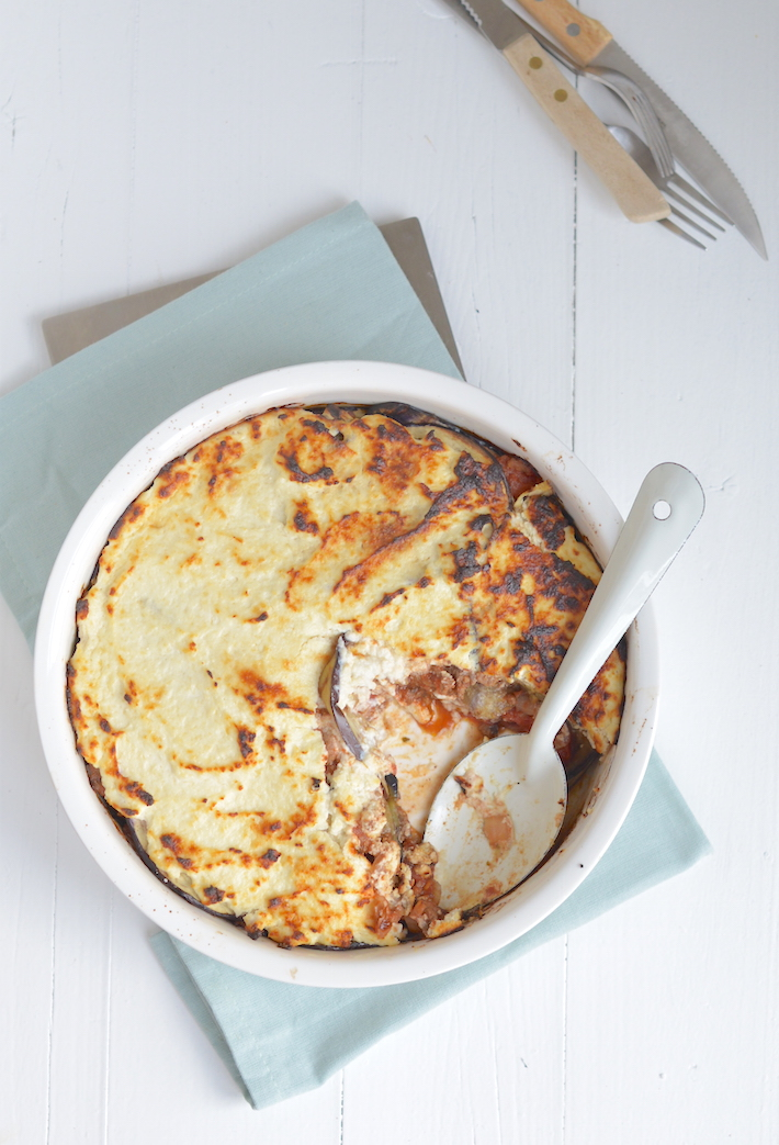 Fresh & easy: skinny moussaka