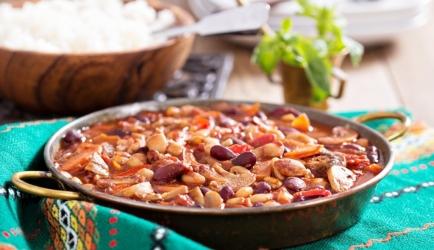 Chili sin carne (veganistisch) recept