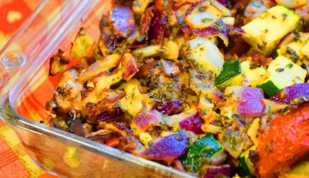 Vegetarische ovenschotel recept