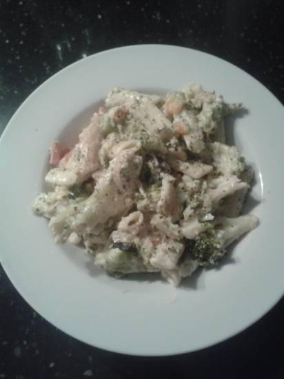 Pasta met kip en broccoli recept