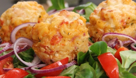 Mac 'n'cheese muffins recept
