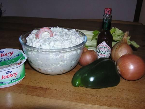 Dipsaus met garnalen (shrimp dip) recept