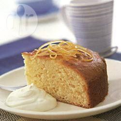 Citroencake met yoghurt recept