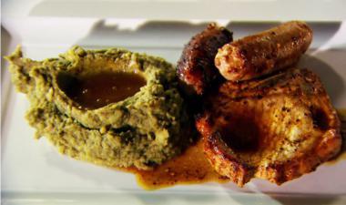 Recept 'zurkelpatatten met varkensvlees'