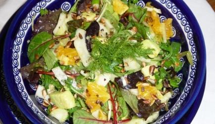 Frisse venkelsalade met sinaasappel en avocado recept ...