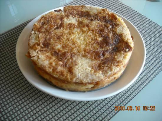 Appeltaart zonder eieren zonder kneden recept