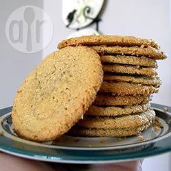 Glutenvrije pindakaas koekjes recept