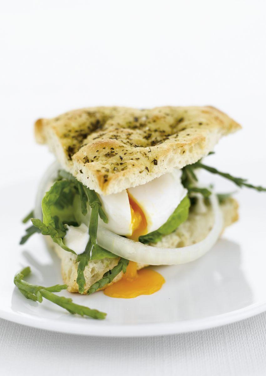 Recept 'ziltig broodje ei met zeekraal'
