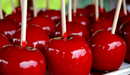 Candy apples / snoep appels recept