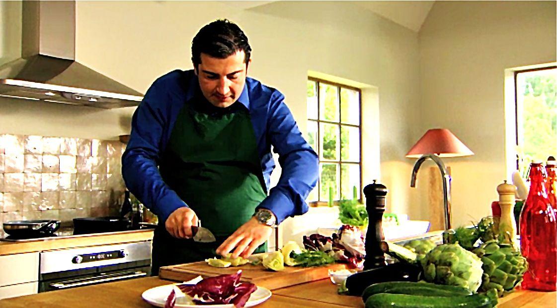 Recept 'volkoren lasagne verdure en carpaccio met truffelcrème ...