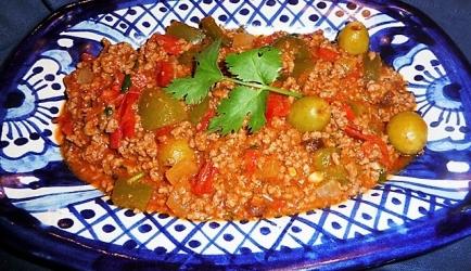 Cubaanse gehaktschotel picadillo recept