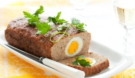 Gehaktbrood met ei recept