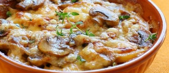 Champignons met kaas uit de oven recept