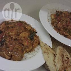 Fruitige kip curry recept