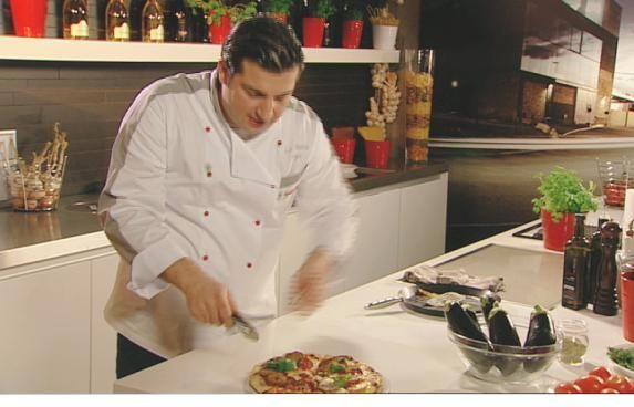 Recept 'pizza calabreze'