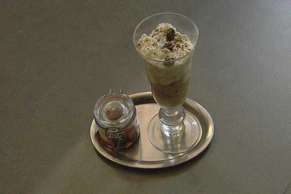 Café glacé met irish cream