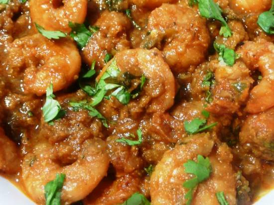 Overheerlijke pittig- romige garnalen curry uit de wok recept ...
