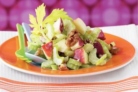 Simpele waldorfsalade