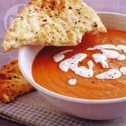 Tomaten-linzensoep recept