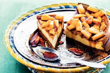Tropische cheesecake met ananas