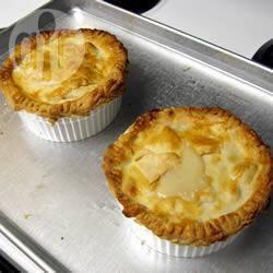 Chicken pot pie (groentetaart met kip) recept
