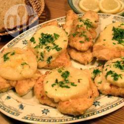 Kip met ananas en kaas recept