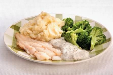 Kabeljauw met romige broccoli