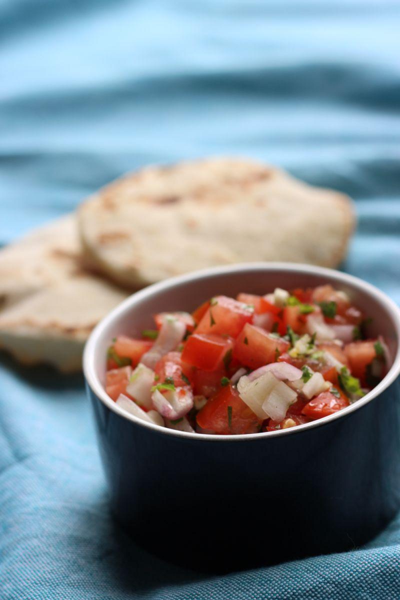Recept 'tomatensalsa'
