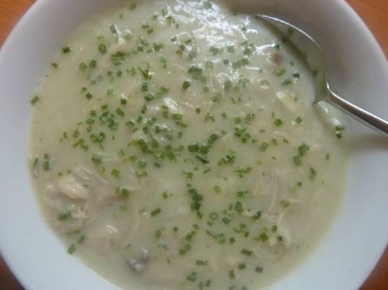 Romige aspergesoep (slank recept) recept