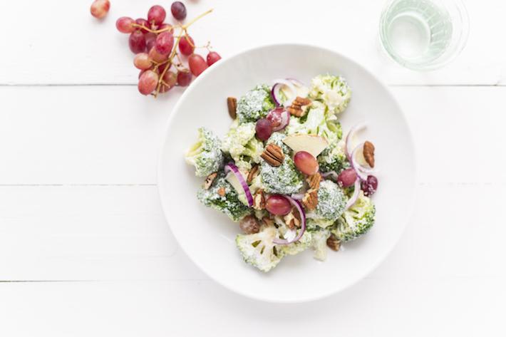 Broccolisalade uit mijn kookboek