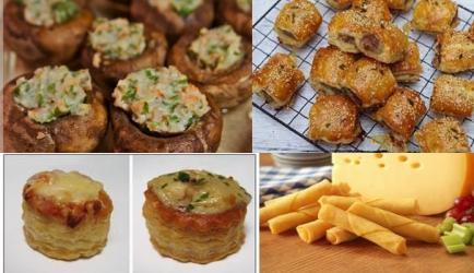 Zaterdag avond snacks 16 recept
