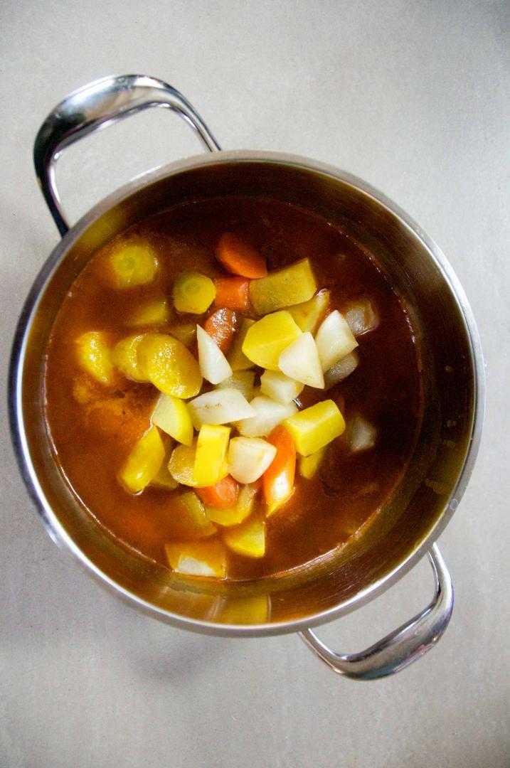 Recept 'lamsstoverij'