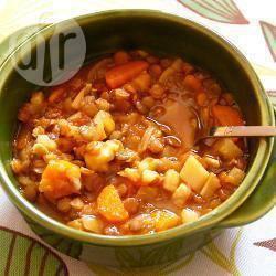 Gezonde linzensoep recept