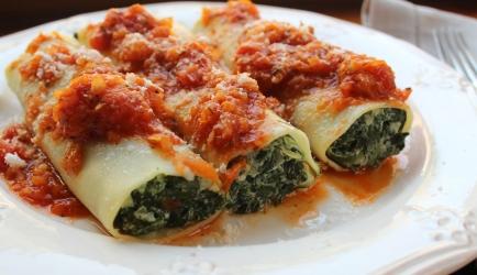 Canneloni met spinazie en ricotta recept