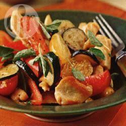 Italiaanse roerbakschotel recept