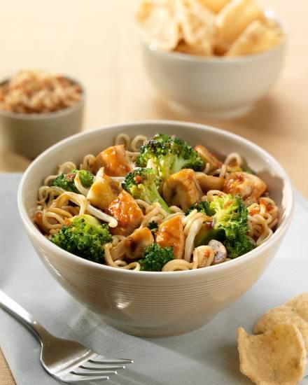 Thaise oester soja wokgerecht met kip en broccoli recept ...