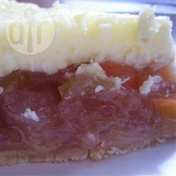 Rabarbercheesecake recept