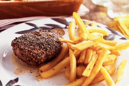Steak au poivre  biefstuk met peper