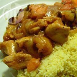 Marokkaanse kip uit de slowcooker recept