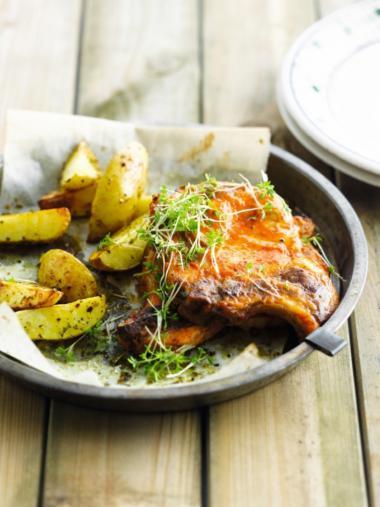 Recept 'gemarineerde koteletten'