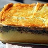 Polenta spinazie ovenschotel recept
