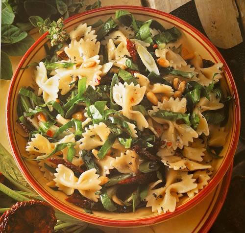 recept koude salade met pasta