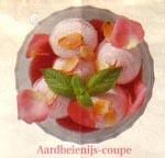 Zelfgemaakt aardbeienijs recept