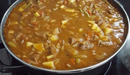 Kruidige hongaarse goulash recept