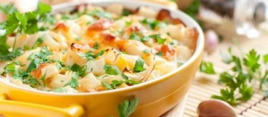 Prei  aardappel, gehakt ovenschotel recept