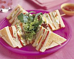 Amerikaanse clubsandwich recept